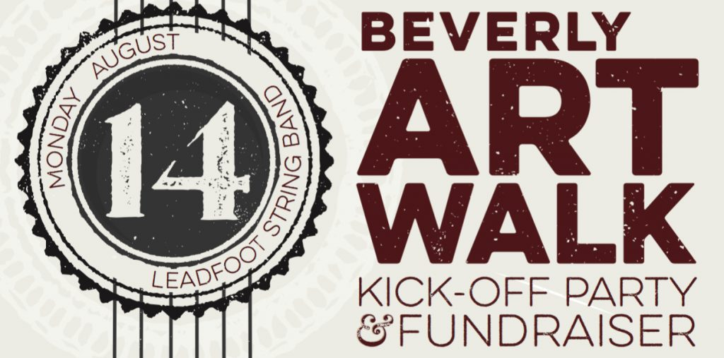 Beverly Art Walk Kick-off & Fundraiser