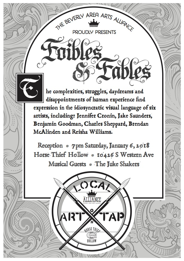 Local Art on Tap: Foibles & Fables